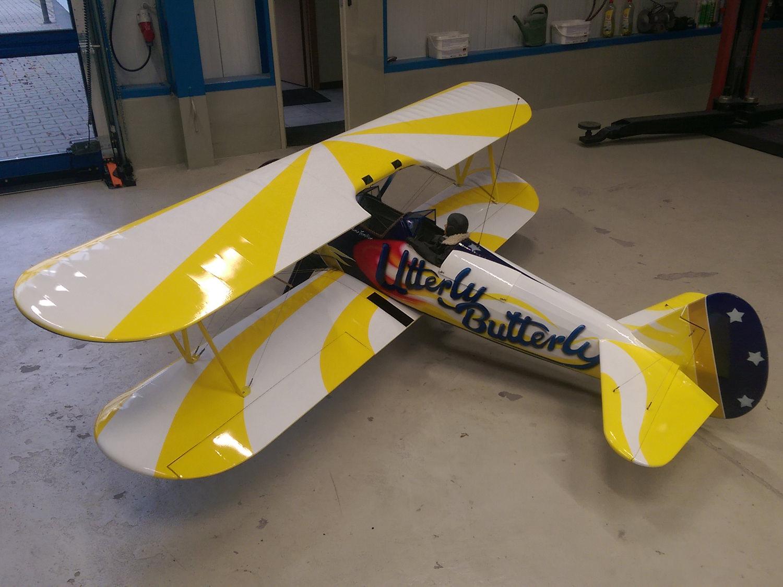 Lackierung-Flugzeug