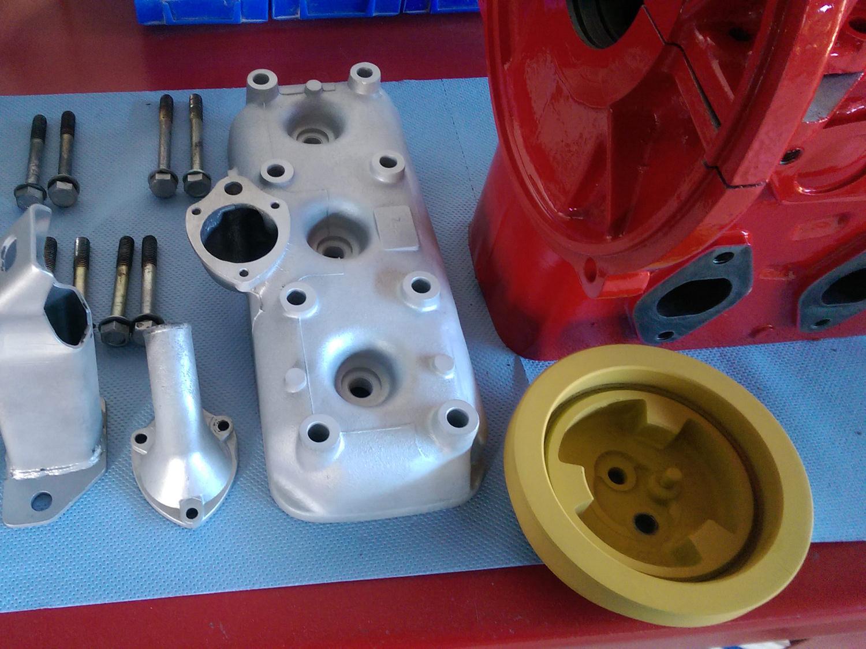 Lackierung-Motor