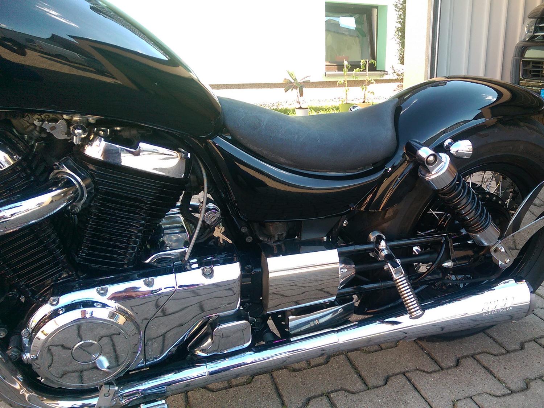 Lackierung-Motorrad