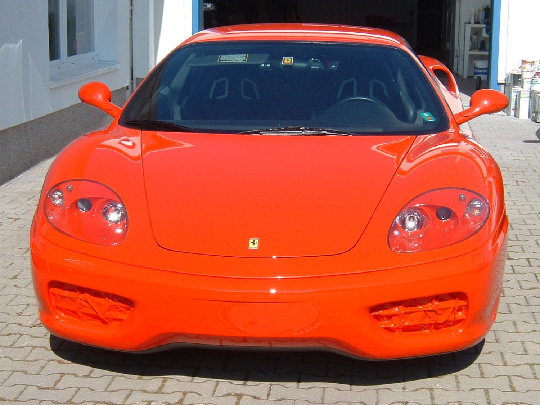 Lackierung-Ferrari